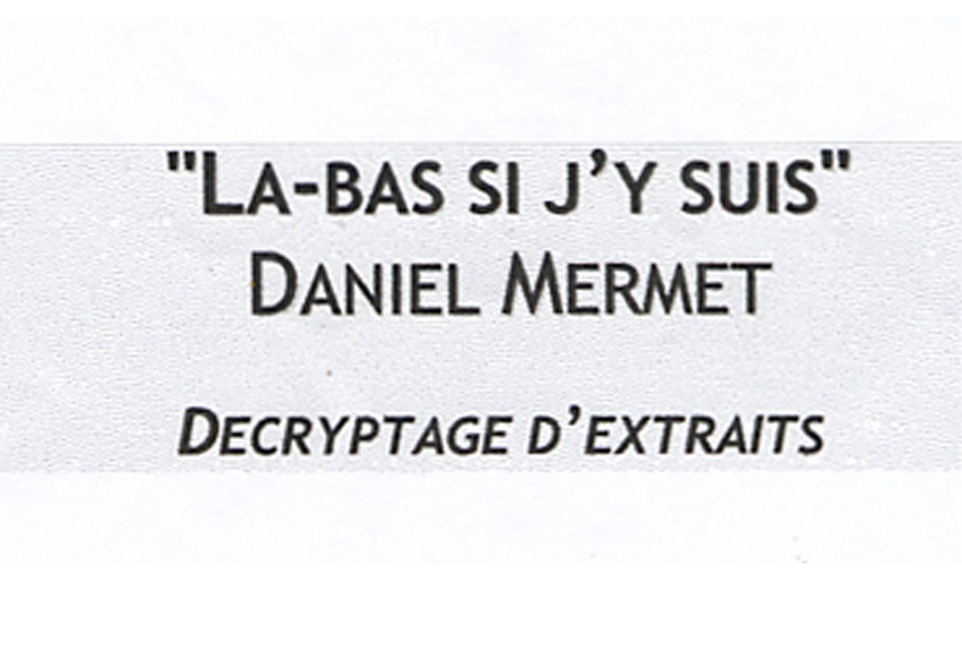 28 Démarche # Emission Mermet Octobre2000